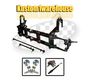 4 Inch Narrowed Vw Ball Joint Front End Beam W/drop Disc Brakes Wide 5 On 205