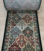 Rug Depot Traditional Oriental Hall And Stair Rug Runner - 31 Wide Black/multi