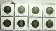 Kennedy Half Dollar Proof Coin Mixed Lot Of 8 Coins 1971 72 73 74 77 78 79 80