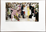Norman Rockwell Saturday People Vintage Original Ltd Ed A/pcollotype Lithograph