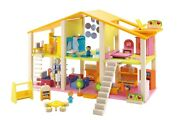 Sevi Friends Large Wooden Furnished Dollhouse Brand New