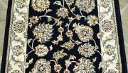 Rug Depot Traditional Oriental Hall And Stair Rug Runner - 31 Wide Navy Blue