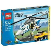 New Lego City Police Helicopter Tracking Limited Edition 3658 F/s From Japan