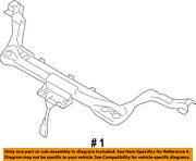 Ford Oem 10-13 Transit Connect Radiator Core Support-upper Tie Bar 9t1z6110672a
