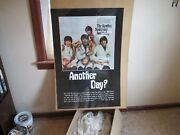 Beatles Boutcher Album Poster Reproduced 1973 Rare Theater Window Size Poster