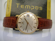 Omega Geneve 132.026 Gold 18kt Year 1967 Manual Caliber 613 Serviced Menand039s Watch