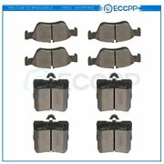 Front And Rear Brake Ceramic Pads For Mercedes-benz C230 1999-2000 Anti Noise