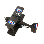 Magideal 1/72 Wwi Se 5a Dual Wing Fighter Diecast Airplane Model Kids Toy