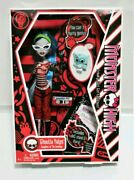 Monster High Ghoulia Yelps 1st Wave Original Doll With Pet Nib New In Box Rare