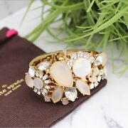 Nwt Authentic Kate Spade Grand Bouquet Statement Bangle - Free Shipping