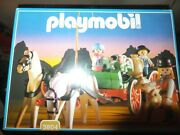 Playmobil Vintage 3804 Western Buckboard New Old Stock Never Out Of Box