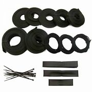 Power Braided Wrap Wire Harness Loom Kit For Amc 127ft Muscle Cars