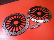 11.8 300 Mm Front Rotors Harley Flhtcui -2 Fronts 2008and039-2013and039 Electra Glide