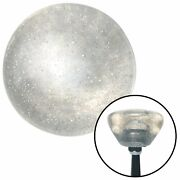 Clear Retro Series Custom Shift Knob Translucent With Metal Flake Muscle Cars