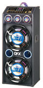 Qfx Sbx412207bt Bluetooth Speaker With Built-in Amplifier Pa Party