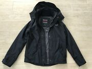 New Hollister By Abercrombie And Fitch Men All-weather Jacket Coat - Navy - S M