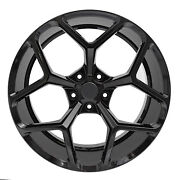 22 Stagger Wheels And Pirelli Tires Fit Camaro Zl1 Gloss Black Z28 Rims Rs Ss Ls