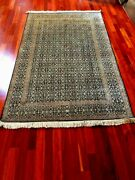 Traditional Floral Design Red Handmade 6x4 75x47 Hand Knotted India Carpet