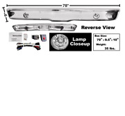 Chevy Pickup Fleetside Front Bumper Chrome With Fog Lamp 1967-1970