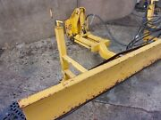 Snow Plough - Adjustable Wheels With Locks - 25 Mm Thick Rubber Cutting Edge
