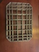 Restaurant Supplies Used Good 1/2 Half Pan Size Wire Rack Inserts 10 X 7andrdquo Qty 3