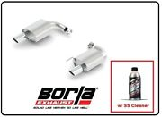 Borla Axle-back Exhaust Atak W/ss Cleaner For 15-17 Ford Mustang Gt 11895