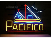 New Pacifico Surfing Beer Cerveza Light Neon Sign 24x20