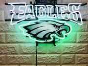 New Philadelphia Eagles Beer Can Neon Sign 24 With Hd Vivid Printing