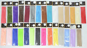 Satin Hat Band 3 Pleat Replacements For Fedoras Many Colors Available