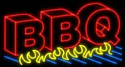 New Bbq Barbeque Flames Beer Light Lamp Neon Sign 32