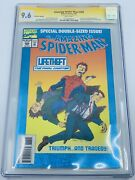 Amazing Spider-man 388 Cgc 9.6 Signature Series Signed By Stan Lee Avengers