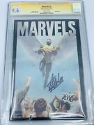 Marvels 2 1994 Cgc 9.6 Ss Signature Series Signed By Stan Lee Avengers Rare
