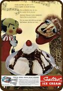 1947 Kukla And Ollie And Sealtest Ice Cream Vntge-look Decorative Replica Metal Sign