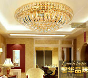 Modern Fashion Clear Crystal Ceiling Lamp Led Flush Mount Fixture Lighting 2280