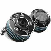Two Brothers Racing Comp V Stack Air Cleaner Intake For Harley Softail Dyna