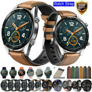 22mm For Samsung Gear Live R382 S3 Silicone/leather Replacement Watch Band Strap