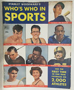 1950 Who's Who In Sports 1 Magazine Ted Williams Rocky Graziano Boxing Football