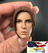 1/6 Female Head Claire Redfield For Phicen Hot Toys 12 Figure Poptoys ❶usa❶