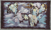 Tapestry Rug Carpet Antique European Europe French France Aubusson 1940