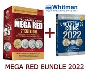 New Redbook Mega Red Guide Catalog United States Us Coins 2022 + Blue Book Price
