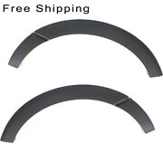 Rear Set Of 2 Lh And Rh Side Primed Wheel Opening Molding Fits Ford Expedition