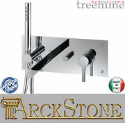 Mixer Tap Single Knob Tub/shower Taps Treemme Time _ Out Brass Chrome