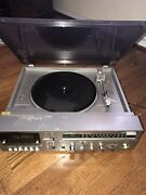 Quasar Vintage Integrated Audio System Turntable Model Cs7120 Untested