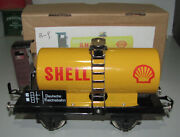 Shell Oil Tanker O-gauge Bogie Carriage In Box As Shown Looks As New