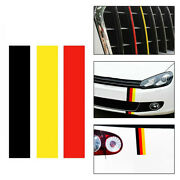 New Diy Car Accessories German Germany Flag Sticker Decal For Vw/bmw/volkswagen