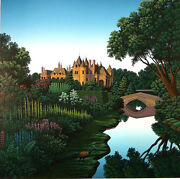 Morning On The Cher A Serigraph By Jim Buckels