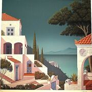 Above Scylla And Charbdis Serigraph By Jim Buckels Final Pricing