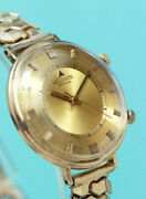 Jaeger Lecoultre Memovox Cal. K 910 10k Yellow Gold 34.3mm Manual Wind 1960and039s