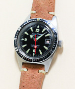 Lucien Perreaux Skin Diver Cal. As1700 Ss Waterproof Automatic 1960and039s