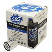 Sands Cycle Oil Change Kit For 2017-and03919 Harley-davidson M8 Models 20w-50 162233